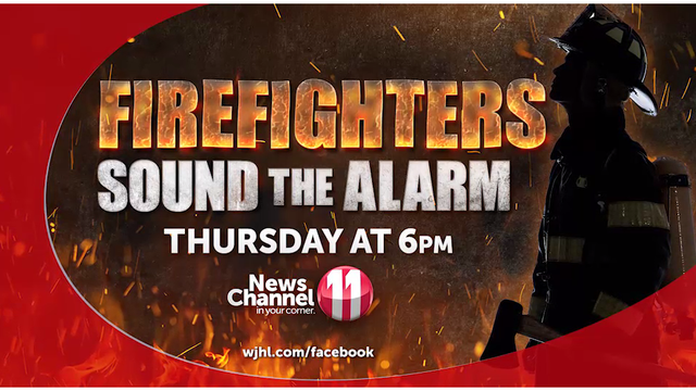 THURSDAY @ 6P: Area firefighters sound the alarm, 'I'm just too