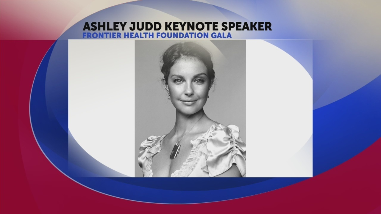 Actress Ashley Judd To Speak At Frontier Health Foundation Gala Nov 4
