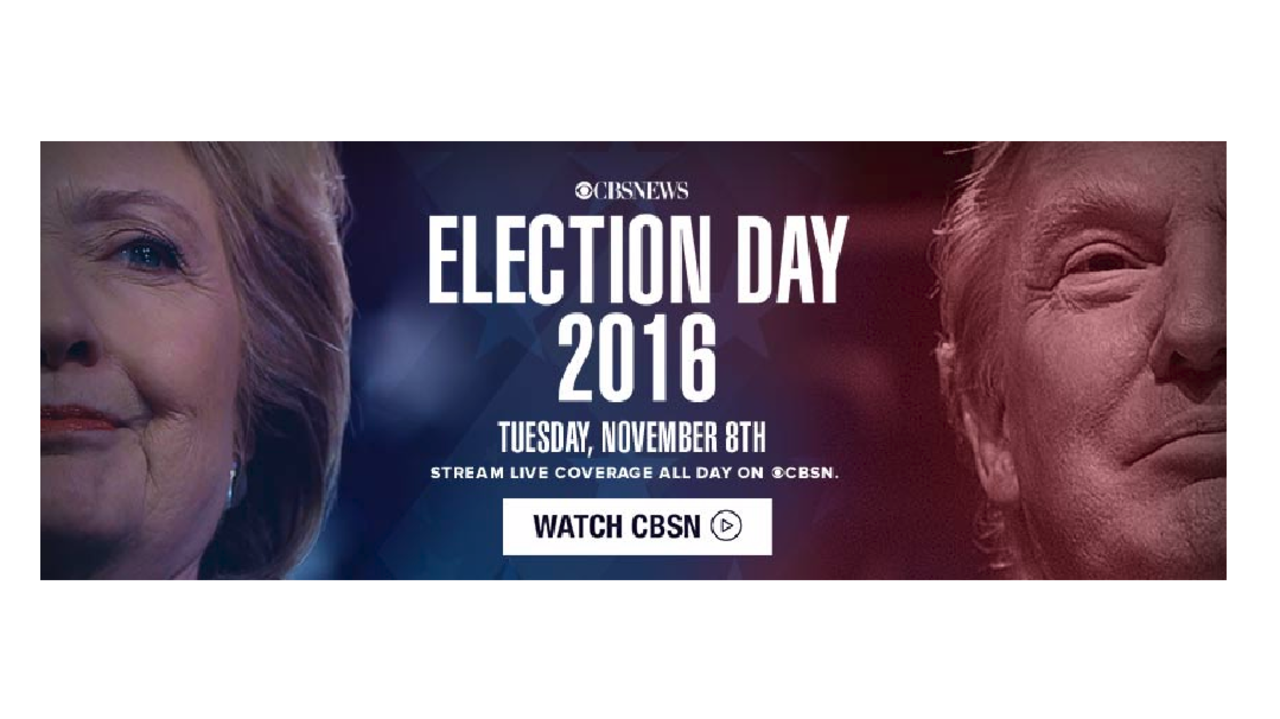 LIVE: CBS News online coverage of Election Day