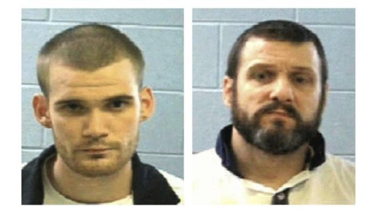 Escaped Ga  inmates captured after foot chase in Rutherford