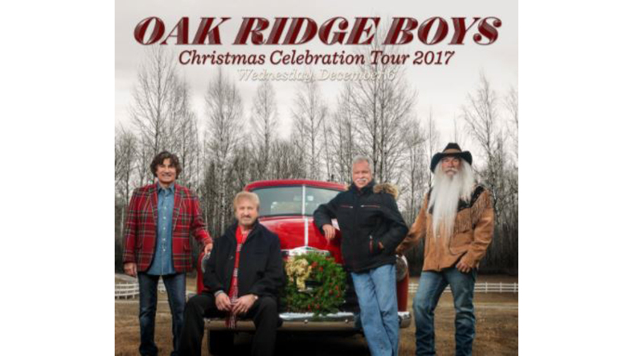 Oak Ridge Boys to perform at Tennessee Theatre for Christmas tour