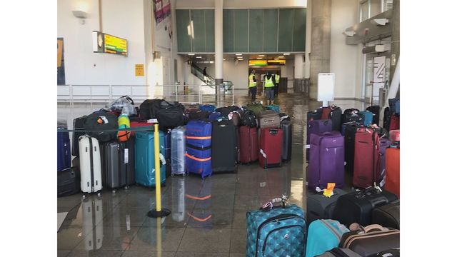 Officials: Water pipe break at JFK Airport weather-related