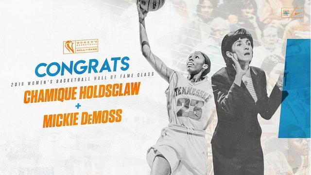 Lady Vols Holdsclaw, DeMoss headed to women's hoops hall of fame