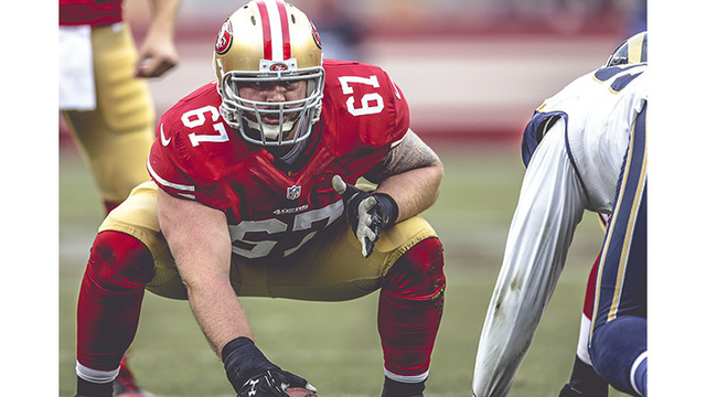 Kingsport native and 49ers center Daniel Kilgore signed a Three-year Contract Extension
