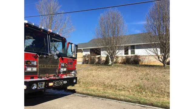 No injuries after house fire in Johnson City on Saturday
