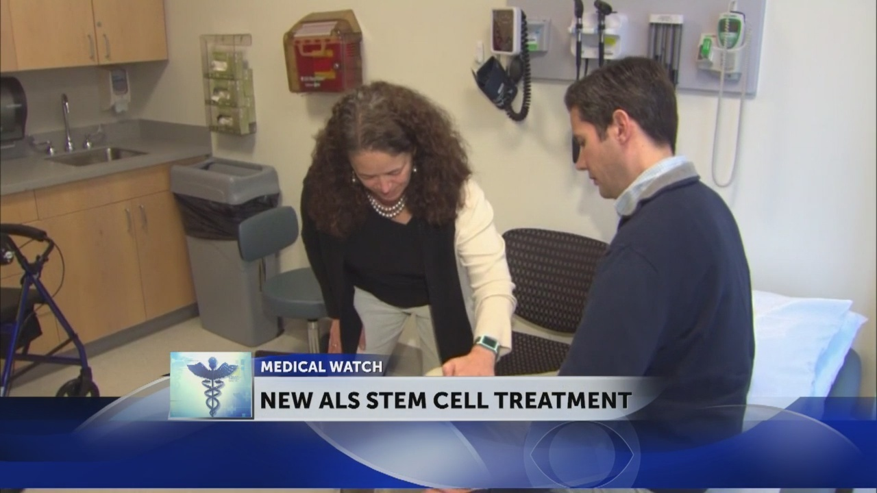 ALS patient hopes stem cell treatment will be 'a powerful weapon'
