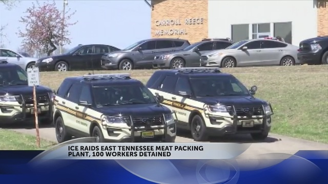 ICE Raids Tennessee Meatpacking Plant, 54 Arrested
