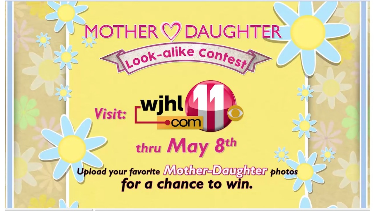 Join wjhls mother daughter look a like contest wjhl kristyandbryce Image collections