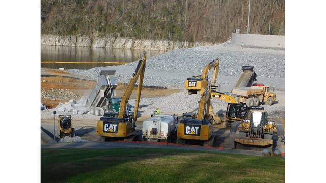 TVA: Berm Construction At Boone Dam Nearing Completion