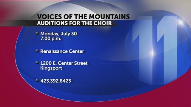 Auditions for voices of the mountains set for july 30 reheart Image collections