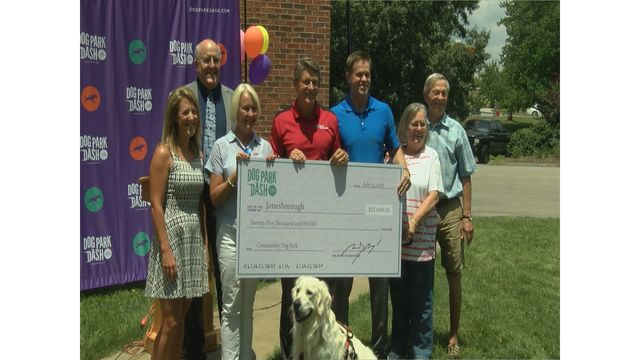 Proposed Jonesborough dog park receives grant