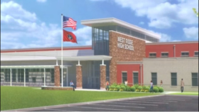 Architect says West Ridge H.S. construction delayed due to weather