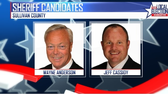 Sullivan County Sheriff Wayne Anderson faces former employee, Jeff Cassidy, in election