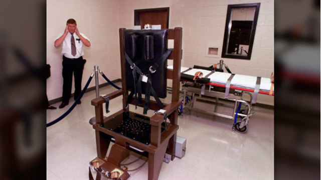 Tennessee death row inmate asks for electric chair