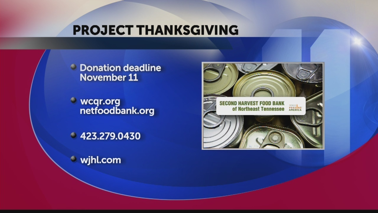 Second Harvest Food Bank Launches 10th Annual Project Thanksgiving