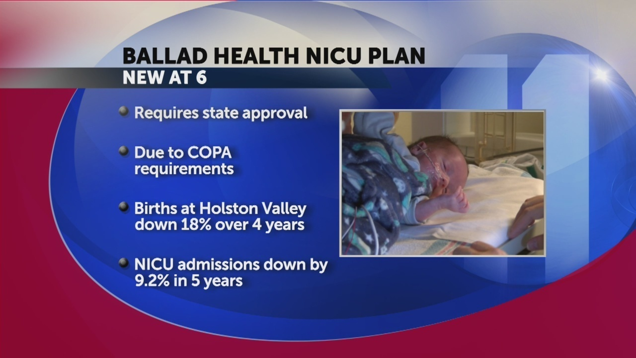 Tdh Ballad Health Nicu Realignment Requires State Approval