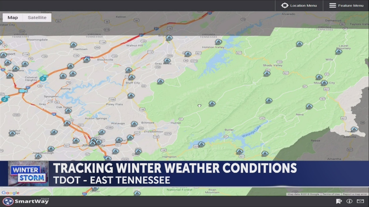 TDOT, VDOT give updates on road conditions