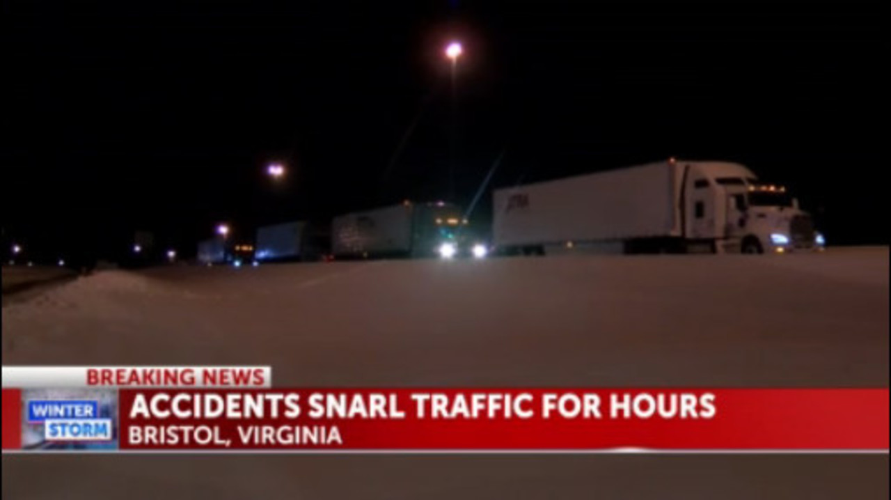 81 >> Bristol Calls In National Guard To Help Stranded Motorists On I 81