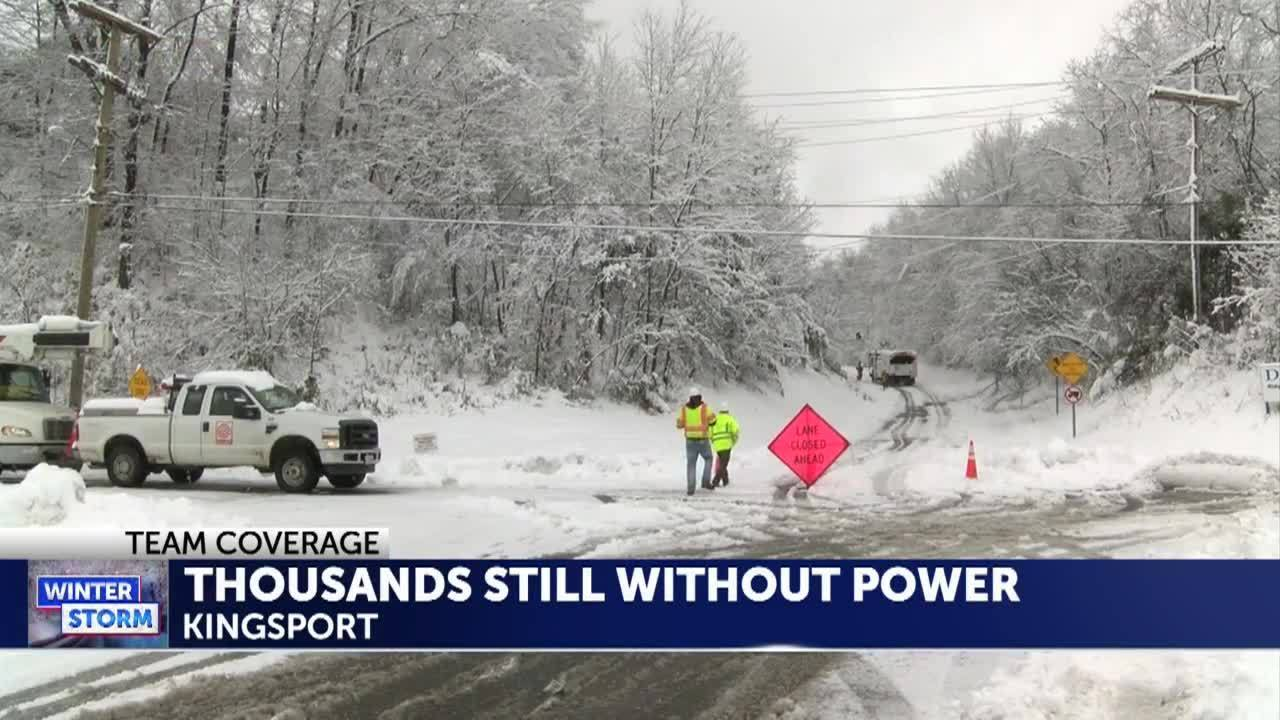 AEP Kingsport power outages reduced to 1400 Gate City 5000