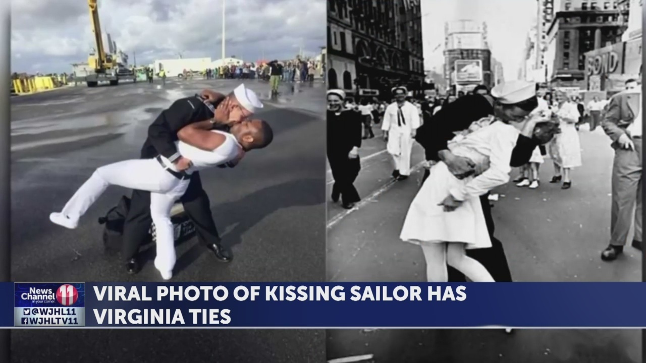 Navy Couple Who Recreated Kissing Sailo 720 Giveaway Radar