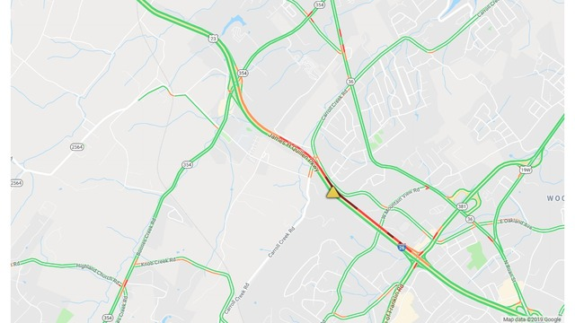Multiple crashes reported on I-26W between Boones Creek, N. State of ...