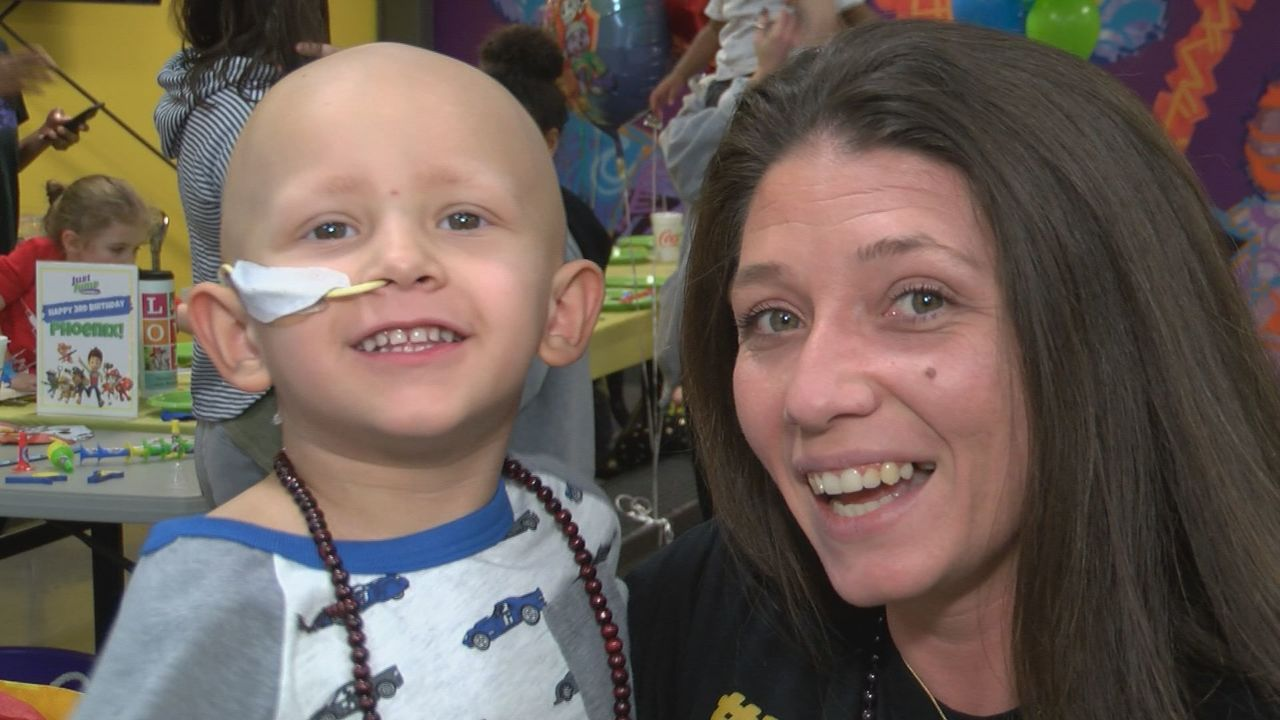 """Tri-Cities mother: """"It was an absolute miracle that Phoenix came home for his third birthday"""" - WJHL-TV News Channel 11"""