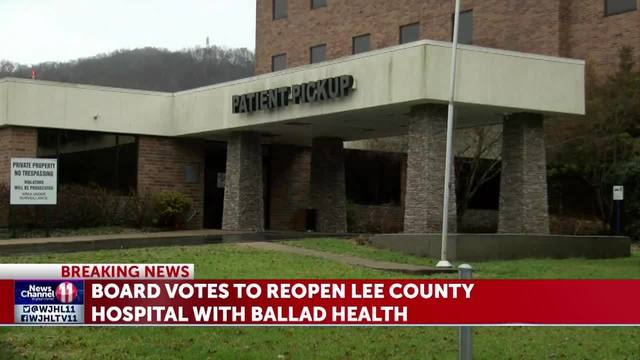 Lee County officials accept proposal to reopen county hospital with