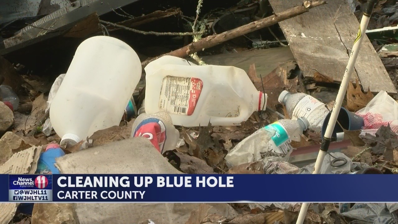 Volunteers to clean up area at Blue Hole waterfall this Saturday