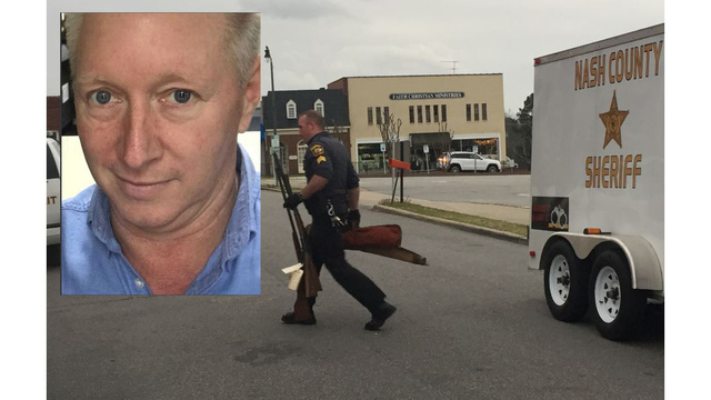Guns seized as search continues for N.C. man sought in wife's death