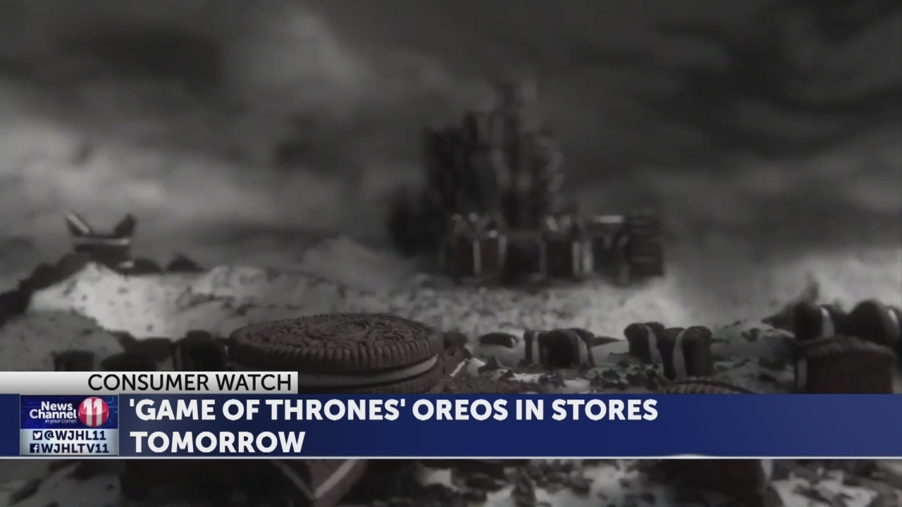 Game Of Thrones Oreo Cookies Available In Stores Tomorrow