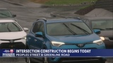 TRAFFIC ALERT: Peoples Street intersection work begins today