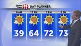 Storm Team 11:  Sunny and Warmer Today