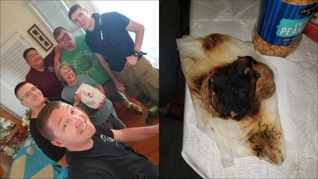 Fire chief buys Wendy's baked potatoes for woman who burned her's in microwave