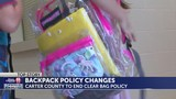 Carter Co. schools to reverse clear backpack policy